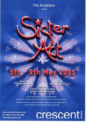 Sister Act flyer front