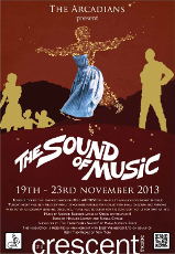 The Sound Of Music Flyer
