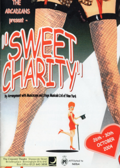 Sweet Charity 2004 Flyer